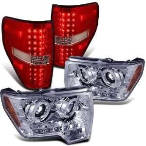 F150 Chrome Ccfl Halo Projector Head Lights + Tail Light Brand New