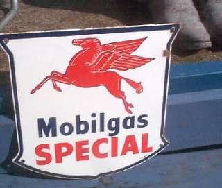 Special Oil Gasoline Porcelain Pump Sign Gas Station Flying Horse