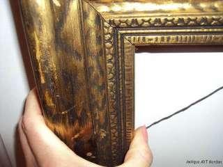 VINTAGE Art DECO Gold PICTURE Frame 16 x 20 for ART
