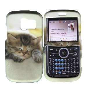 Cute Kitty Cat Pantech Link P7040 At&t Hard Case Snap on