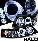 SONAR 99 04 FORD MUSTANG LED HALO PROJECTOR HEADLIGHTS