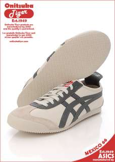 Asics Onitsuka Tiger MEXICO 66 OFF WHITE/CHARCOAL #T32
