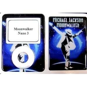 Michael Jackson Moonwalker Ipod Nano 3 Skin Cover