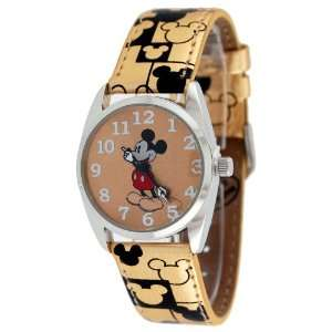 Female Disney Mickey Mouse Watch with Printed Band Toys & Games