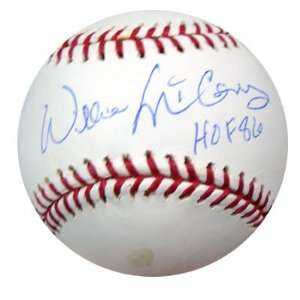 Autographed Willie McCovey Ball   HOF 86 PSA DNA #G50492