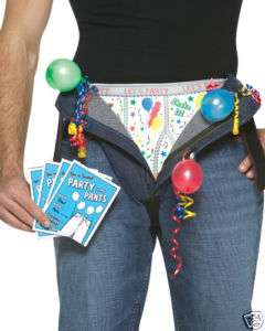 PARTY IN MY PANTS funny mens adult halloween costume