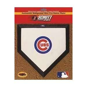Chicago Cubs Hollywood Pro Mini Home Plate Sports