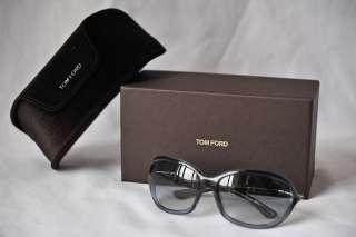 TOM FORD Womens Mens Dark Grey *JENNIFER* TF8 20B Luxe Sunglasses+Case
