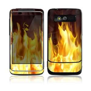 Furious Fire Decorative Skin Cover Decal Sticker for HTC 7 Trophy Cell