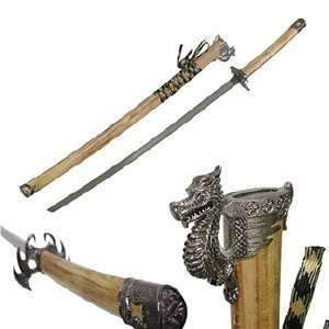40 Wood Katana Samurai Sword:  Sports & Outdoors