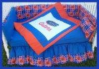 NEW baby crib bedding set mw UNIVERSITY FLORIDA GATORS
