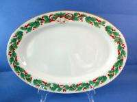 Sango Noel Christmas China One Oval Platter