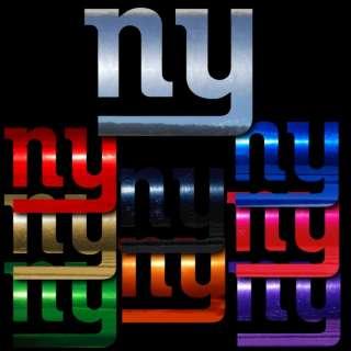 New York Giants 18 inch Window Stickers Decals NFL NFC