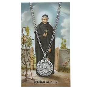 Saint Gift Set PSD600PE St. Saint Peregrine Prayer Card Set Jewelry