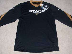 NEW with TAGS REEBOK DALLAS STARS L/S Crew PlayDry Shirt Medium $50