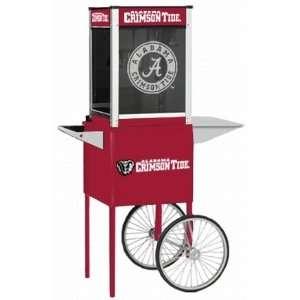 Alabama Crimson Tide Popcorn Popper with Cart Sports