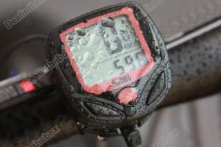 display Bike Bicycle Cycle Computer Odometer Speedometer +cable New