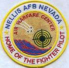 USAF BASE PATCH, NELLIS AFB NEVADA, AIR WARFARE CENTER*