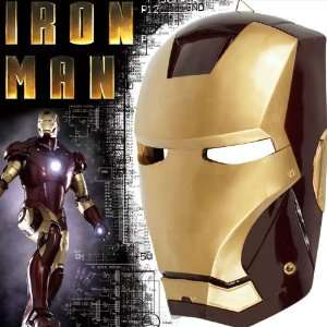Iron Man Collector Mask   Resin Material Sports