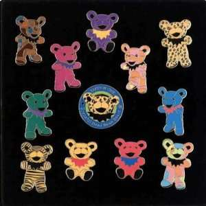 Grateful Dead   Edition I Bear Pin Set of 11: Arts, Crafts
