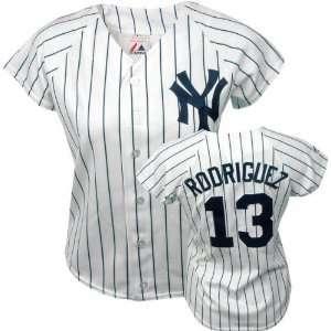 Majestic Replica New York Yankees Womens Jersey