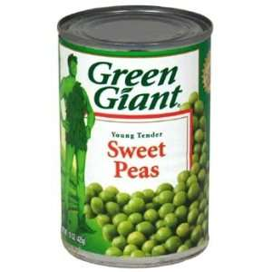 Green Giant Young Tender Sweet Peas 15 oz  Grocery