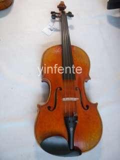 Violin Concert Sound Hand Carve Solid wood master work #1401