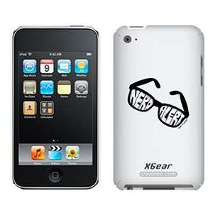 Nerd Alert by TH Goldman on iPod Touch 4G XGear Shell Case