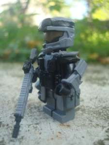 LEGO HALO MINIFIG CUSTOM SPARTAN B312 REACH FULL ARMOR