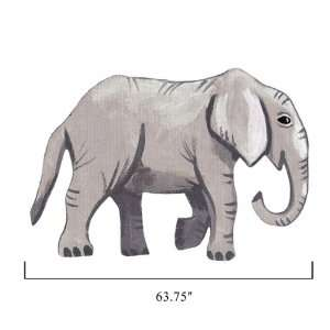 Sherri Blum Jungle Animals Large Elephant Wall Stickers