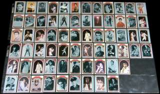ELVIS PRESLEY Complete Set 1978 Donruss Cards + DISPLAY BOX + 60 EXTRA