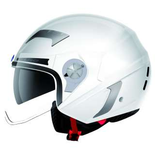 OPEN FACE DEMI JET MOTORBIKE MOTORCYCLE SCOOTER CRASH HELMET