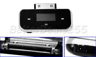 iPod iPhone Touch Wireless FM Transmitter +Car Charger