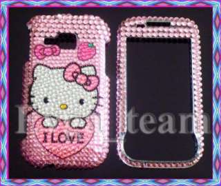 Hello Kitty Bling Case Cover F Samsung Indulge R910 IL