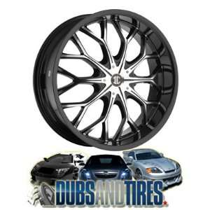 22 Inch 22x8 2 Crave wheels No.9 Chrome wheels rims