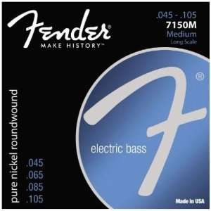 Fender Original Bass Strings Medium Gauge   7150M Musical