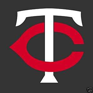 MINNESOTA TWINS Logo Window Wall STICKER * Vinyl Car Decal * Die Cut