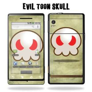 for Motorola Droid   Evil Toon Skull: Cell Phones & Accessories