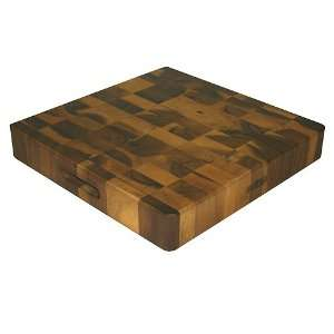 Mountain Woods 16 X 16 Extra Thick Square Acacia Cutting Board