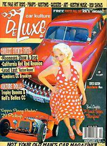 Car Kulture Deluxe #33 Hot Rods/Copper Penny Pusher Etc