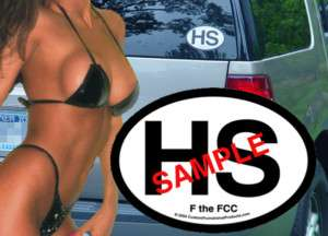 Howard Stern, Sirius, Fan Car Sticker Decal (HS) Unique