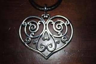 BRIGHTON MARSTON HEART KEY RING FOB CHAIN NEW NWT 881934864018