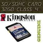 SD 32 GB 32GB SDHC Class 4 Secure Flash Memory Card Digital Camera