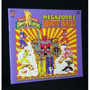 Mighty Morphin Power Rangers: Megazords Mighty Mazes