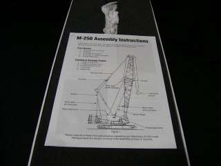 Manitowoc M 250 Crawler Crane by Classic Construction Models 1:48