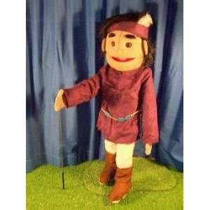 American Indian Boy Full Body Puppet Toys & Games