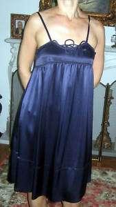 SEE BY CHLOE dark blue silk dress. Size 42 US 6. NWT