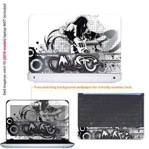 Protective decal sticker for Dell Inspiron 1012 case cover 10mini10 43