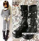 GOTH PUNK Cosplay JBD VISUAL KEI V STUD BOOT 10.5/11 27