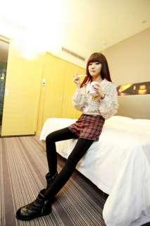 New Korean Women Long Sleeve Button Down Shirt Blouse 2 Colors 1691